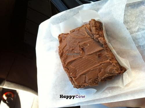 """Photo of Wild Leek  by <a href=""""/members/profile/trematode"""">trematode</a> <br/>A gluten free brownie for take-out. They're massive! <br/> November 25, 2013  - <a href='/contact/abuse/image/38899/59111'>Report</a>"""