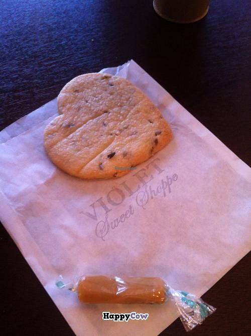 """Photo of CLOSED: Violet Sweet Shoppe  by <a href=""""/members/profile/Posi%20Britt"""">Posi Britt</a> <br/>Lavender shortbread and vanilla caramel <br/> December 18, 2013  - <a href='/contact/abuse/image/38904/60513'>Report</a>"""