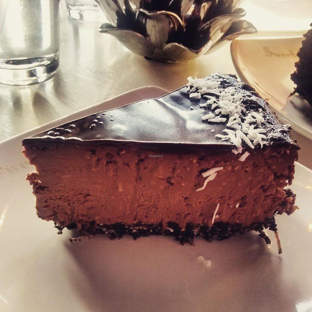 """Photo of Sweet Hereafter  by <a href=""""/members/profile/QuothTheRaven"""">QuothTheRaven</a> <br/>Vegan chocolate macaroon cheesecake  <br/> May 15, 2015  - <a href='/contact/abuse/image/38912/102339'>Report</a>"""
