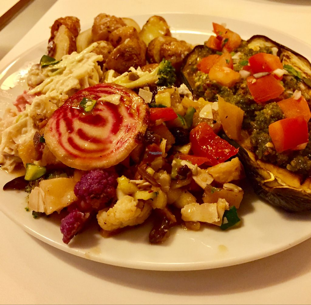 "Photo of Glo - Laugavegur  by <a href=""/members/profile/ScottMullaney"">ScottMullaney</a> <br/>Pesto Aubergine with cooked potatoes and marinated vegetables <br/> November 10, 2016  - <a href='/contact/abuse/image/38919/188197'>Report</a>"