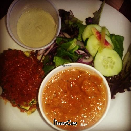 "Photo of CLOSED: Premier Raw  by <a href=""/members/profile/CKT"">CKT</a> <br/>raw lasagna,  tomato bisque,  Caesar salad <br/> June 25, 2013  - <a href='/contact/abuse/image/38977/50153'>Report</a>"