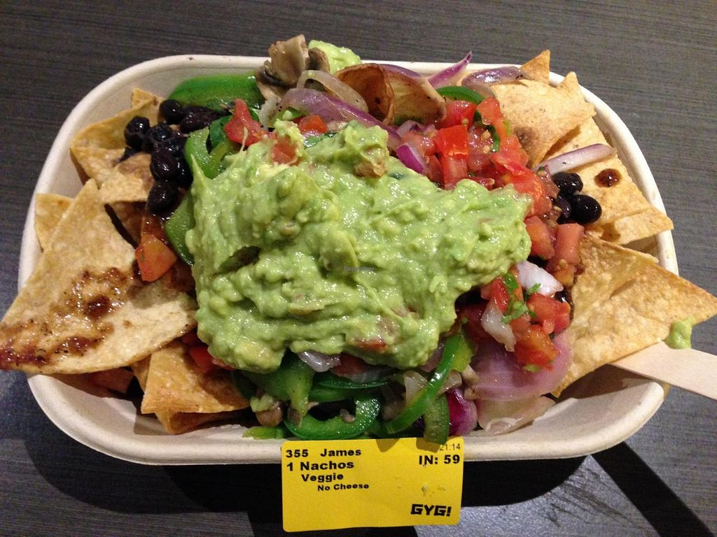 """Photo of Guzman y Gomez  by <a href=""""/members/profile/xjohn"""">xjohn</a> <br/>Vegan nachos <br/> July 20, 2014  - <a href='/contact/abuse/image/38986/74505'>Report</a>"""