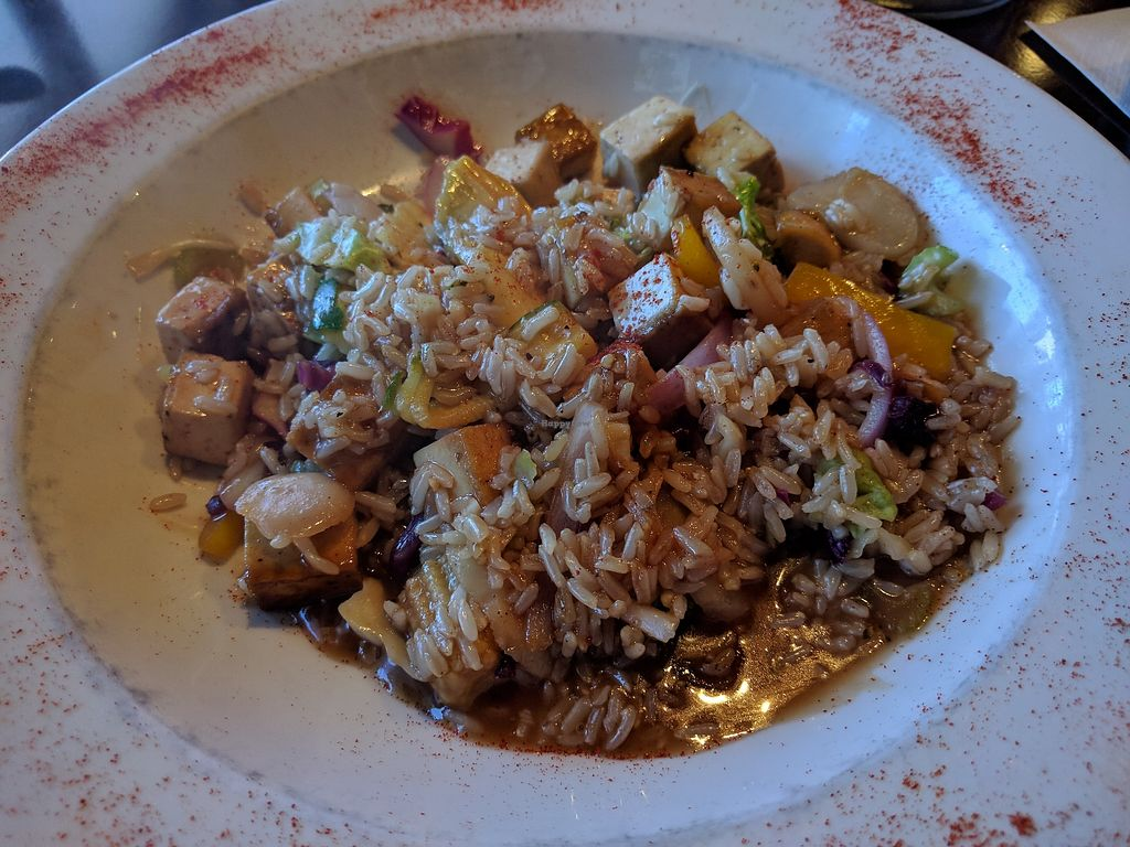 """Photo of Sunflower Cafe  by <a href=""""/members/profile/veggie_htx"""">veggie_htx</a> <br/>Lemongrass Stir Fry <br/> March 23, 2018  - <a href='/contact/abuse/image/38992/374960'>Report</a>"""