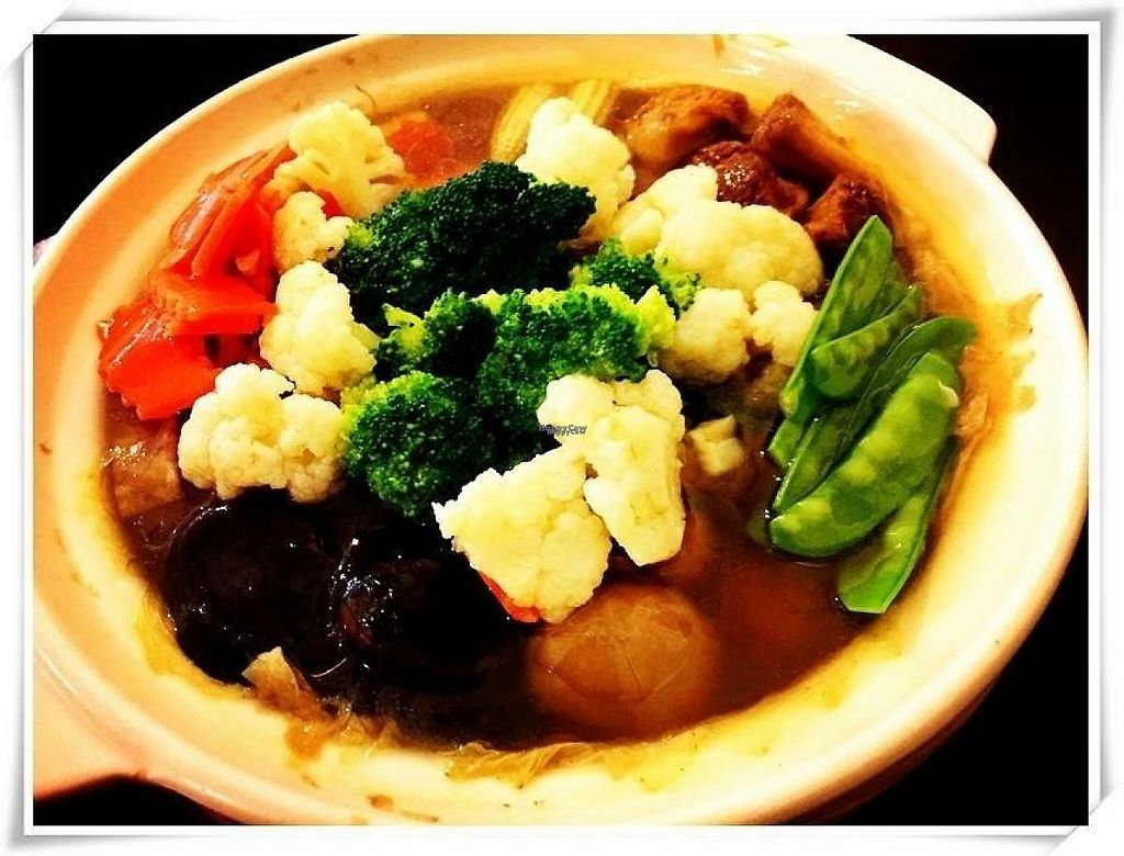 """Photo of Jing Si Vegetarian - Pure Minded  by <a href=""""/members/profile/KevinKangpeakhsin"""">KevinKangpeakhsin</a> <br/>Large bowl of vegetables (to be scheduled) Natural ingredients  <br/> December 3, 2016  - <a href='/contact/abuse/image/39003/196897'>Report</a>"""