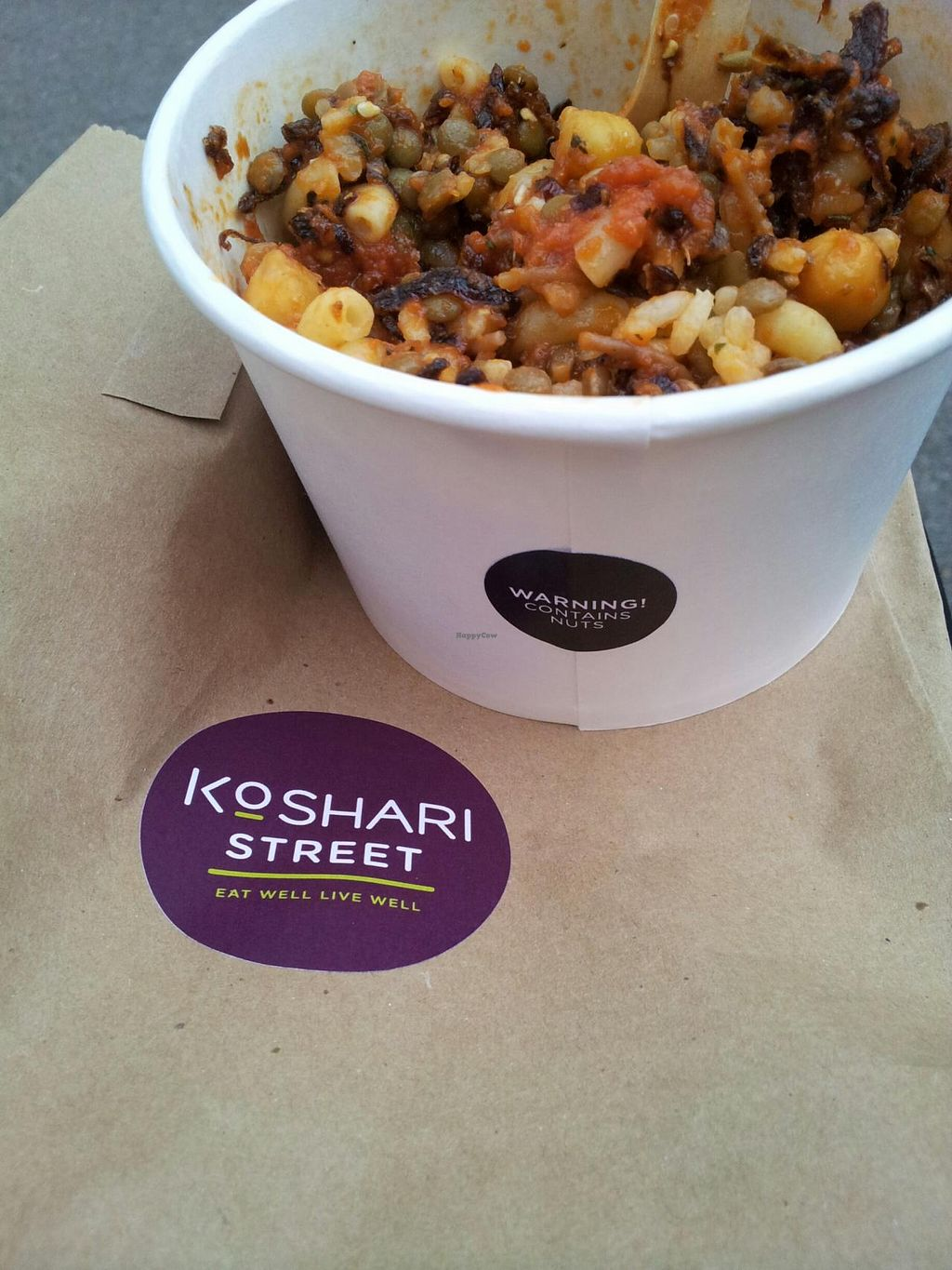 "Photo of Koshari Street  by <a href=""/members/profile/GiraffeGirl"">GiraffeGirl</a> <br/>Koshari mixed together <br/> May 2, 2014  - <a href='/contact/abuse/image/39033/69135'>Report</a>"