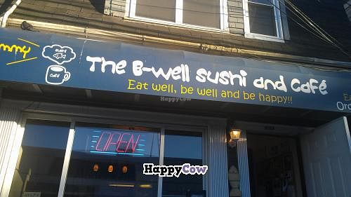 "Photo of The B-Well Sushi and Cafe  by <a href=""/members/profile/QuothTheRaven"">QuothTheRaven</a> <br/>Outside <br/> August 24, 2013  - <a href='/contact/abuse/image/39037/53717'>Report</a>"