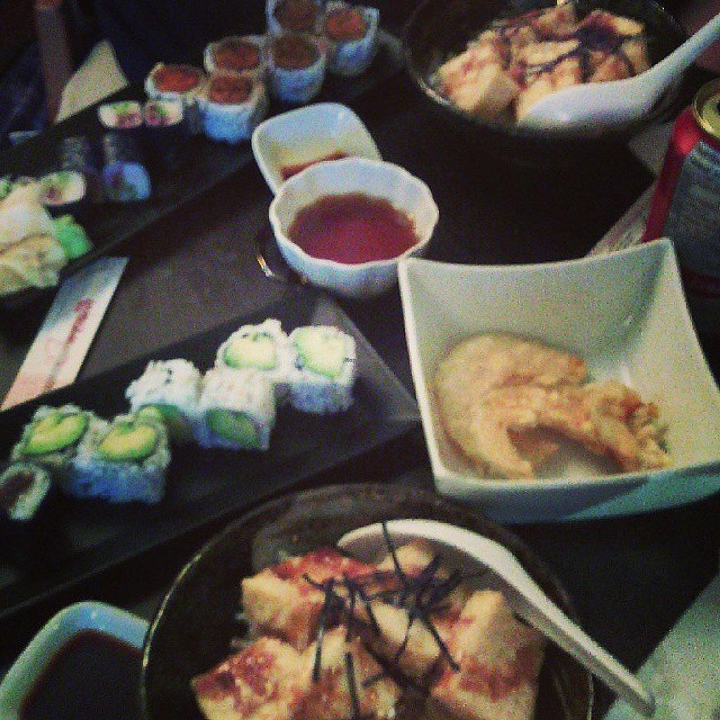 """Photo of The B-Well Sushi and Cafe  by <a href=""""/members/profile/QuothTheRaven"""" class=""""title__title"""">QuothTheRaven</a> <br/>Meal! <br/> October 11, 2014  - <a href='/contact/abuse/image/39037/82645'>Report</a>"""