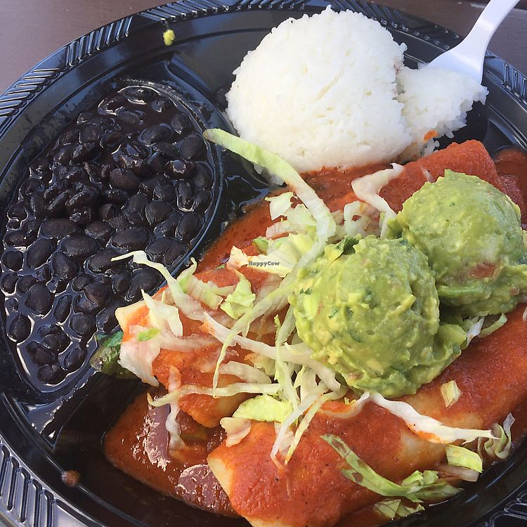 """Photo of Federico's Fresh Mex Cuisine  by <a href=""""/members/profile/VeggieHeather"""">VeggieHeather</a> <br/>red enchilada <br/> June 23, 2017  - <a href='/contact/abuse/image/39043/272454'>Report</a>"""