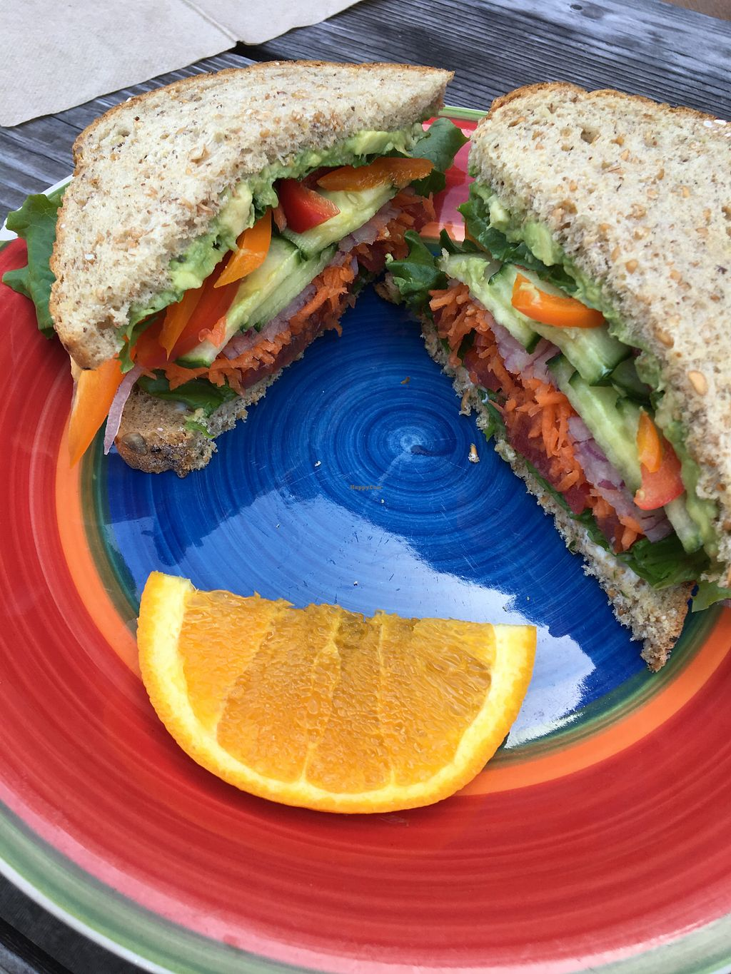 """Photo of Farm Stand Deli  by <a href=""""/members/profile/Clean%26Green"""">Clean&Green</a> <br/>Veg sandwich <br/> May 23, 2018  - <a href='/contact/abuse/image/39067/404015'>Report</a>"""