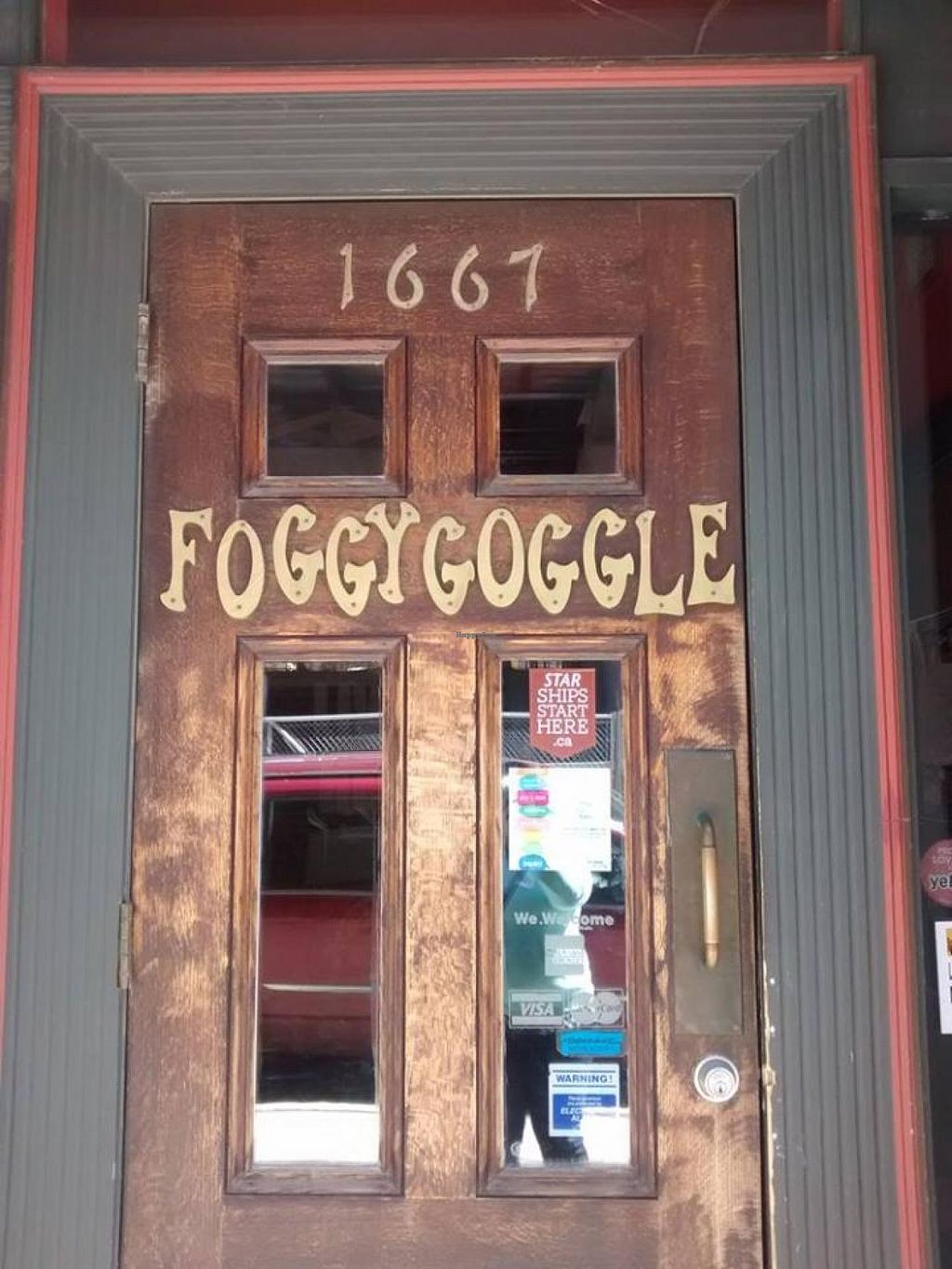 """Photo of The Foggy Goggle  by <a href=""""/members/profile/QuothTheRaven"""">QuothTheRaven</a> <br/>Door <br/> April 18, 2015  - <a href='/contact/abuse/image/39078/99475'>Report</a>"""