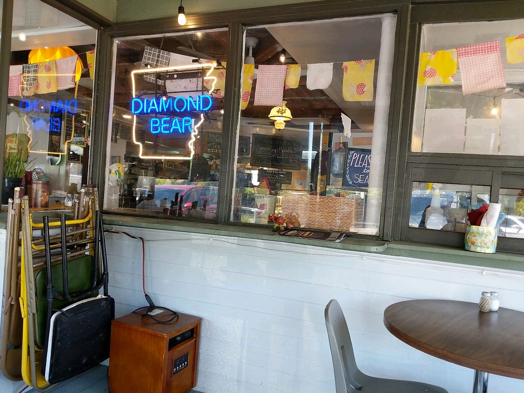 """Photo of The Root Cafe  by <a href=""""/members/profile/Toroco"""">Toroco</a> <br/>porch at The Root Cafe  <br/> April 20, 2018  - <a href='/contact/abuse/image/39087/388738'>Report</a>"""