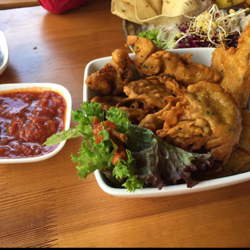 """Photo of Goura Pakora  by <a href=""""/members/profile/mareenschuetze"""">mareenschuetze</a> <br/>delicious  starter  <br/> July 21, 2015  - <a href='/contact/abuse/image/39145/110300'>Report</a>"""