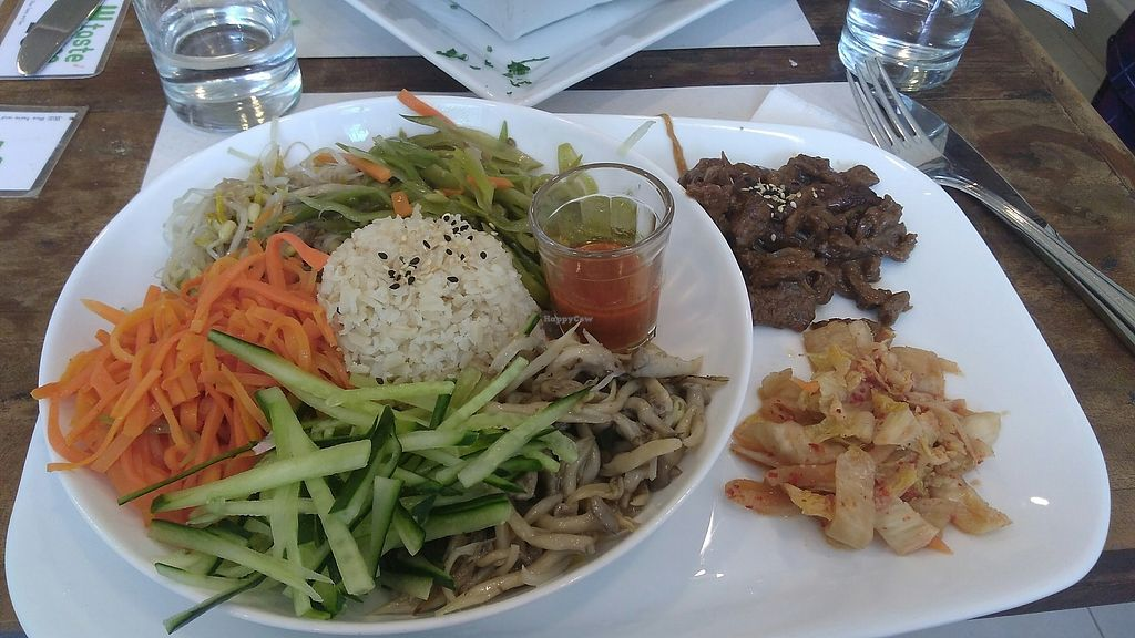 "Photo of Taste and See  by <a href=""/members/profile/vivianspbrazil"">vivianspbrazil</a> <br/>korean vegan dish <br/> August 9, 2017  - <a href='/contact/abuse/image/39164/290875'>Report</a>"