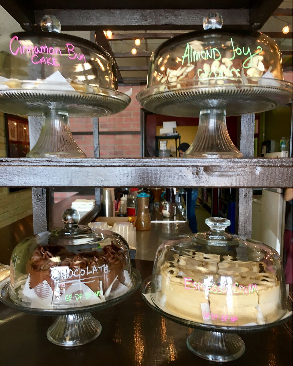 "Photo of The Bald Strawberry Cafe  by <a href=""/members/profile/clovely.vegan"">clovely.vegan</a> <br/>cake display <br/> August 18, 2017  - <a href='/contact/abuse/image/39195/294062'>Report</a>"