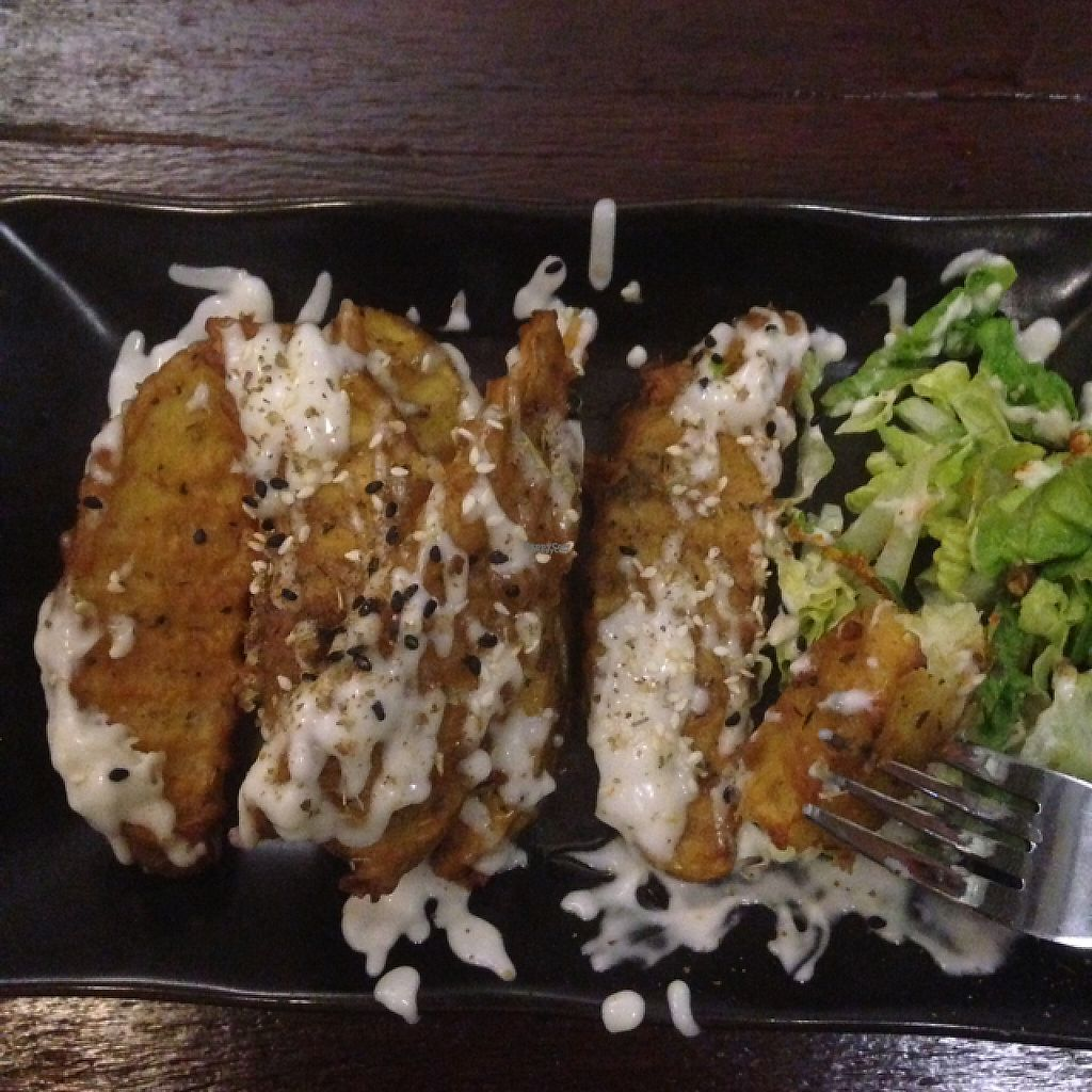 """Photo of Sushi Kitchen - George Town  by <a href=""""/members/profile/foodoo"""">foodoo</a> <br/>most delicious potato wedges  <br/> March 21, 2017  - <a href='/contact/abuse/image/39223/239164'>Report</a>"""
