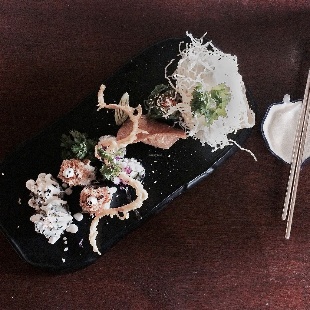 """Photo of Sushi Kitchen - George Town  by <a href=""""/members/profile/Mitjacinda"""">Mitjacinda</a> <br/>so damn good <br/> July 2, 2017  - <a href='/contact/abuse/image/39223/275842'>Report</a>"""
