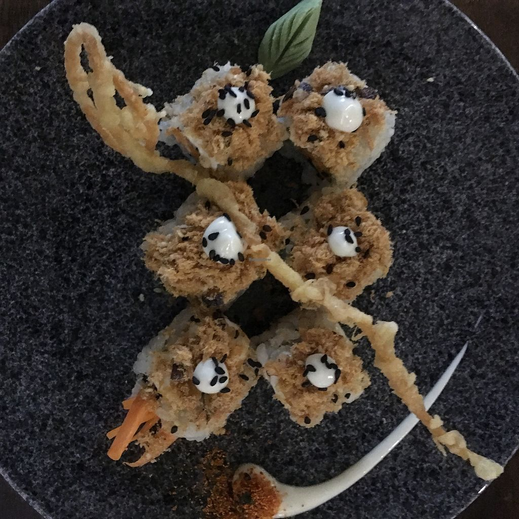 """Photo of Sushi Kitchen - George Town  by <a href=""""/members/profile/DaphneCheong"""">DaphneCheong</a> <br/>Crispy G-Ken Floss Maki (6 for 10 ringgit) <br/> September 18, 2017  - <a href='/contact/abuse/image/39223/305637'>Report</a>"""