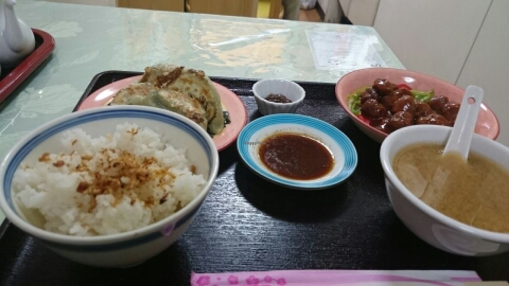 """Photo of Senjo Handmade Gyoza Shop  by <a href=""""/members/profile/Karan_S"""">Karan_S</a> <br/>all for less than 900 yen! <br/> July 2, 2016  - <a href='/contact/abuse/image/39225/157337'>Report</a>"""
