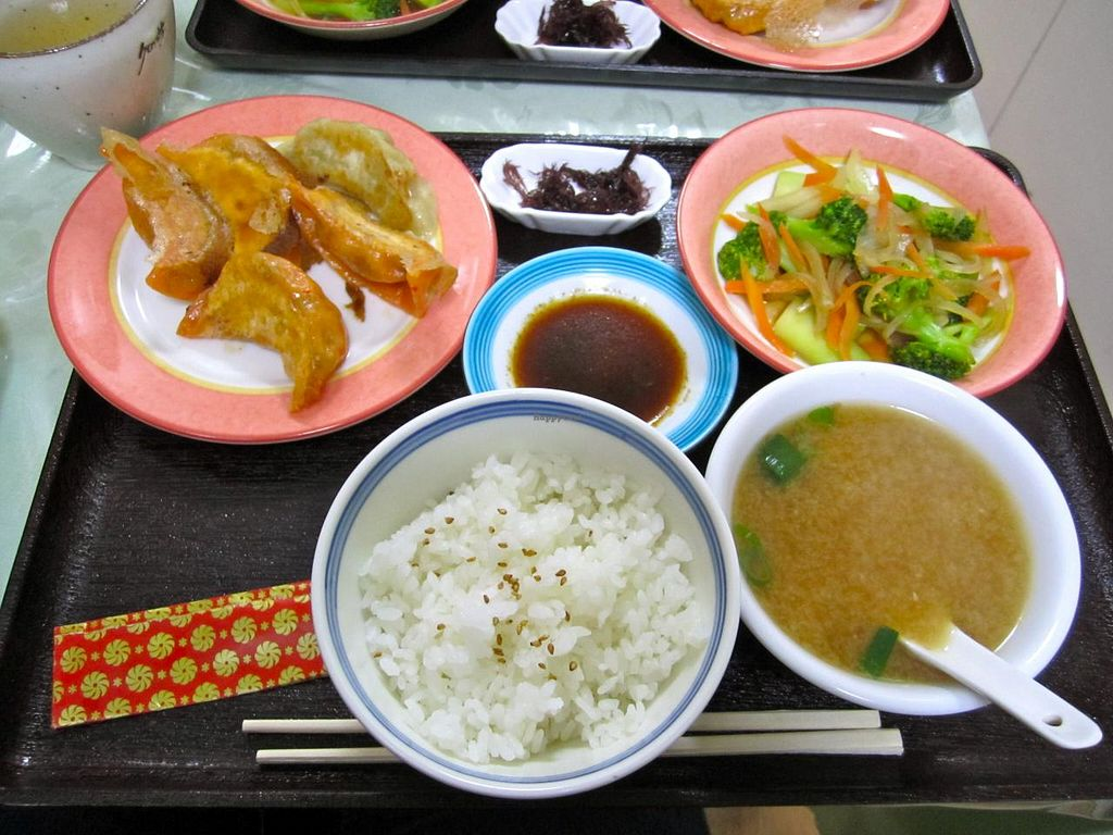 """Photo of Senjo Handmade Gyoza Shop  by <a href=""""/members/profile/srk0810"""">srk0810</a> <br/>Vegan set lunch <br/> February 21, 2015  - <a href='/contact/abuse/image/39225/93626'>Report</a>"""