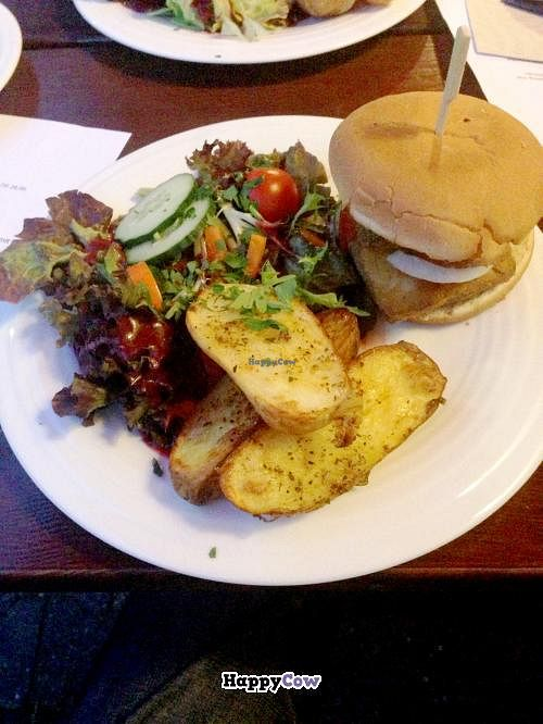 """Photo of CLOSED: Chimichurri  by <a href=""""/members/profile/SueClesh"""">SueClesh</a> <br/>tofu burger <br/> July 11, 2013  - <a href='/contact/abuse/image/39258/51144'>Report</a>"""