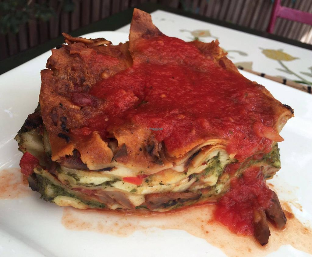 "Photo of Samsara  by <a href=""/members/profile/Kimkit"">Kimkit</a> <br/>Vegetarian lasagna <br/> September 3, 2016  - <a href='/contact/abuse/image/39272/173211'>Report</a>"