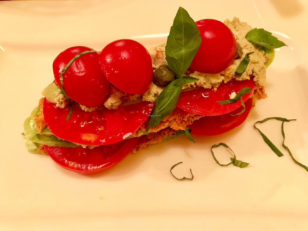 "Photo of Samsara  by <a href=""/members/profile/PaigeBuda"">PaigeBuda</a> <br/>Raw Vegan tomato zucchini lasagna with a cashew garlic basil and sun dried tomato <br/> September 17, 2017  - <a href='/contact/abuse/image/39272/305464'>Report</a>"
