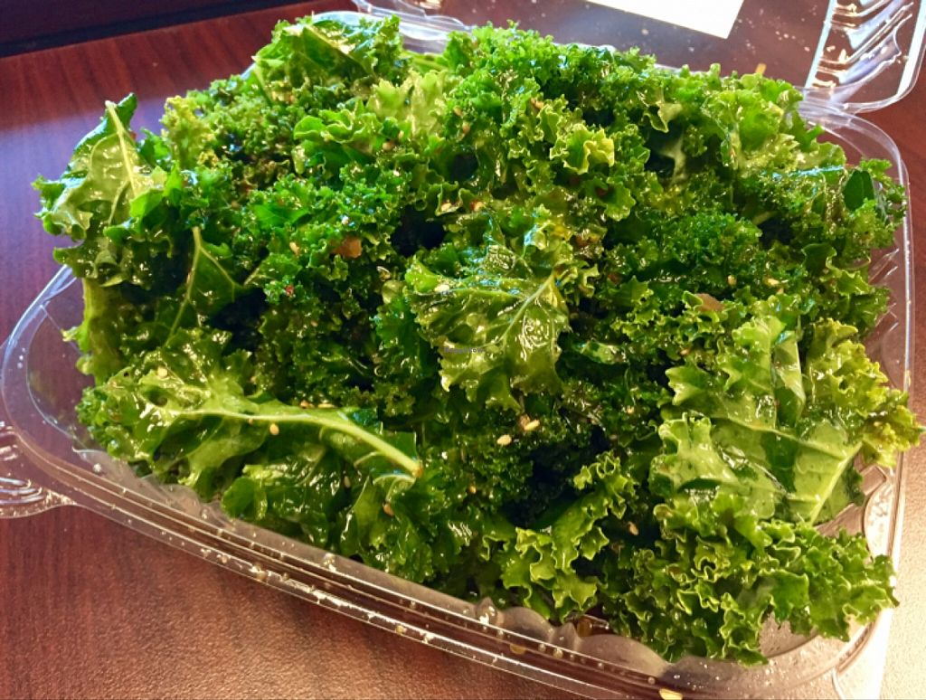 "Photo of Nature's Market Cafe  by <a href=""/members/profile/clovely.vegan"">clovely.vegan</a> <br/>Kale salad to-go.  <br/> November 2, 2015  - <a href='/contact/abuse/image/39293/123509'>Report</a>"