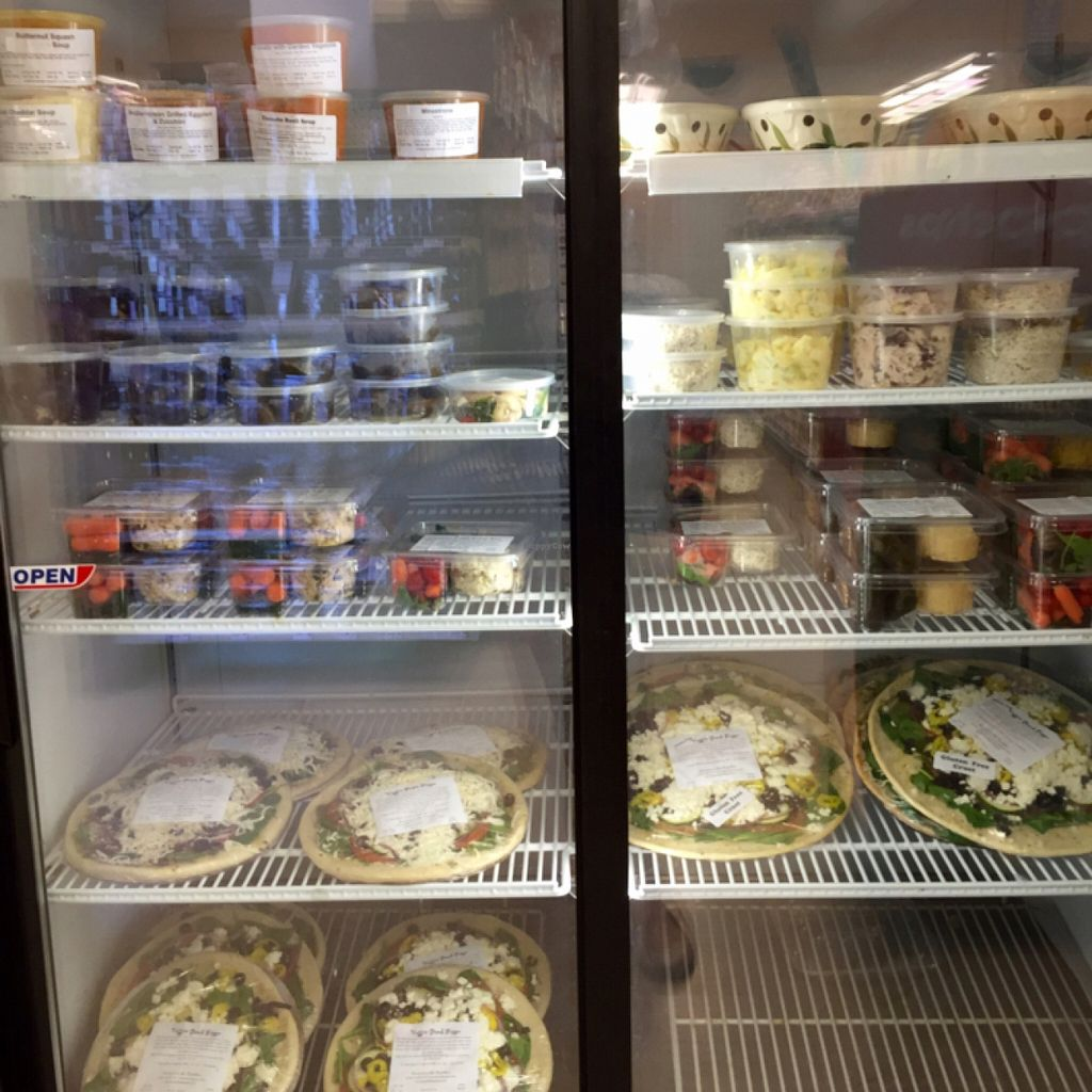 "Photo of Nature's Market Cafe  by <a href=""/members/profile/clovely.vegan"">clovely.vegan</a> <br/>Cafe food (prepared) for sale in the store.  <br/> November 2, 2015  - <a href='/contact/abuse/image/39293/123526'>Report</a>"