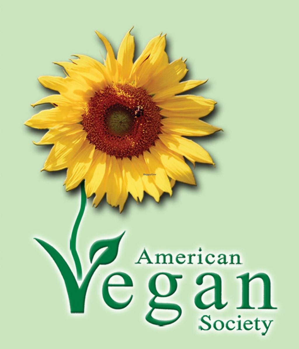 "Photo of American Vegan Society  by <a href=""/members/profile/American%20Vegan"">American Vegan</a> <br/>AVS logo <br/> June 26, 2016  - <a href='/contact/abuse/image/39304/156202'>Report</a>"