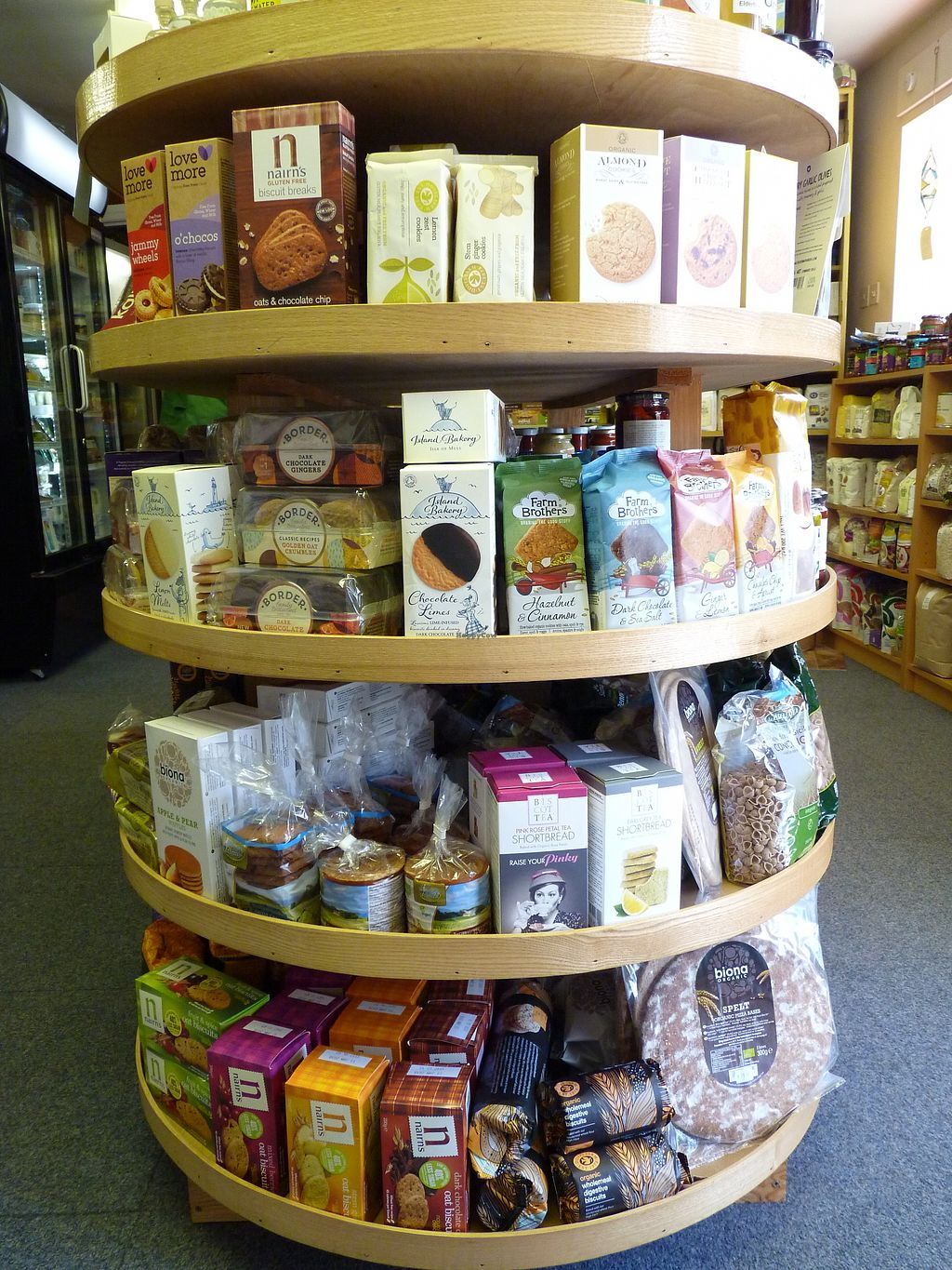 """Photo of Dyfi Wholefoods  by <a href=""""/members/profile/DyfiWholefoods"""">DyfiWholefoods</a> <br/>A range of delicious biscuits <br/> February 16, 2018  - <a href='/contact/abuse/image/39329/360024'>Report</a>"""