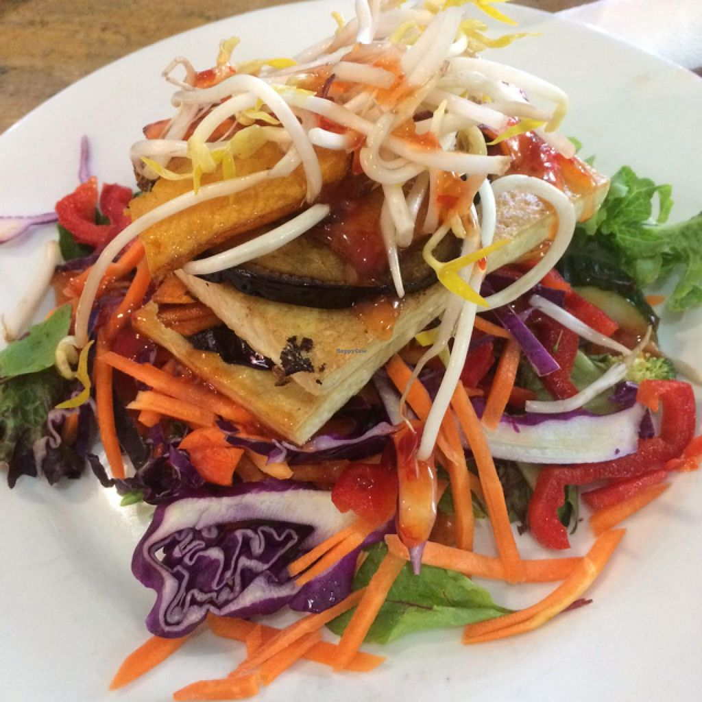"Photo of Fishtales Cafe  by <a href=""/members/profile/geminibec17"">geminibec17</a> <br/>Grilled Tofu Veggie Stack!  <br/> December 30, 2014  - <a href='/contact/abuse/image/39335/89046'>Report</a>"
