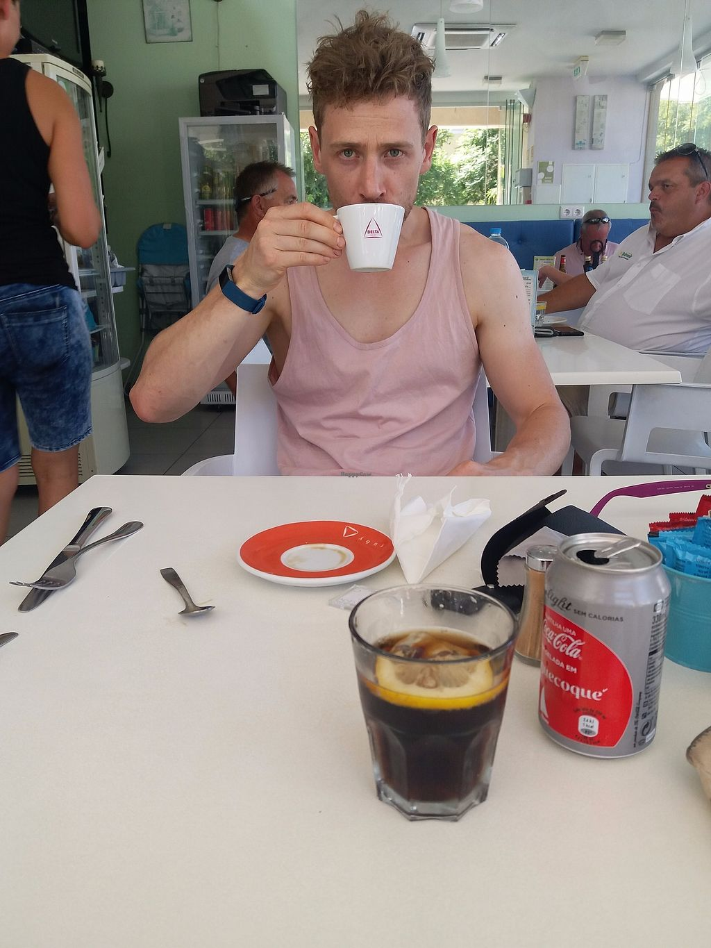 "Photo of Cafe Fresco  by <a href=""/members/profile/Libbytes"">Libbytes</a> <br/>Soya milk coffee <br/> September 12, 2017  - <a href='/contact/abuse/image/39343/303599'>Report</a>"