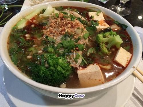 """Photo of Pho and Hot Pot  by <a href=""""/members/profile/kmilitello"""">kmilitello</a> <br/>New Pho Chay (vegetarian/vegan pho) <br/> December 11, 2013  - <a href='/contact/abuse/image/39383/60225'>Report</a>"""
