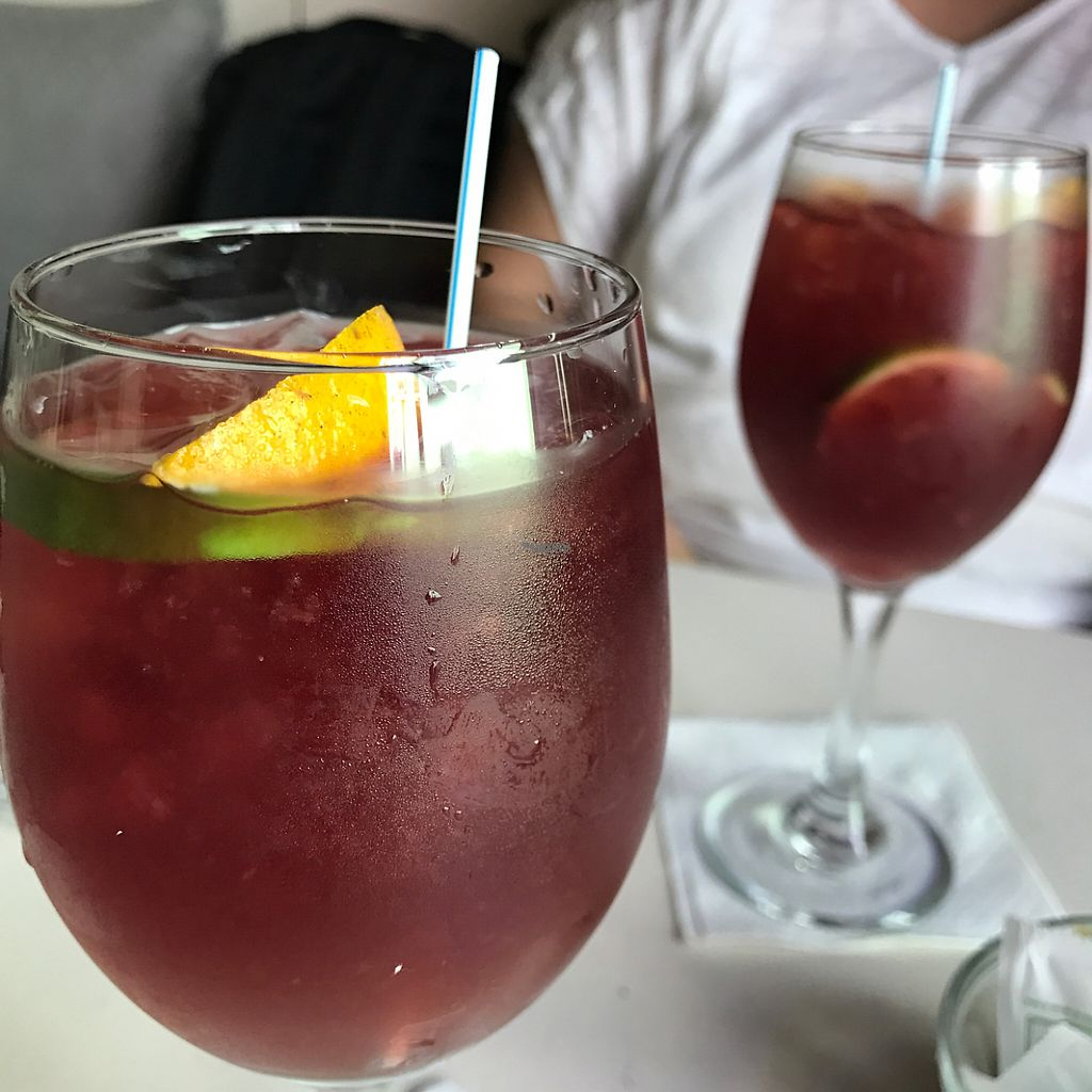 """Photo of St Germain Bistro and Cafe  by <a href=""""/members/profile/xmrfigx"""">xmrfigx</a> <br/>Sangria! <br/> February 14, 2017  - <a href='/contact/abuse/image/39402/226542'>Report</a>"""
