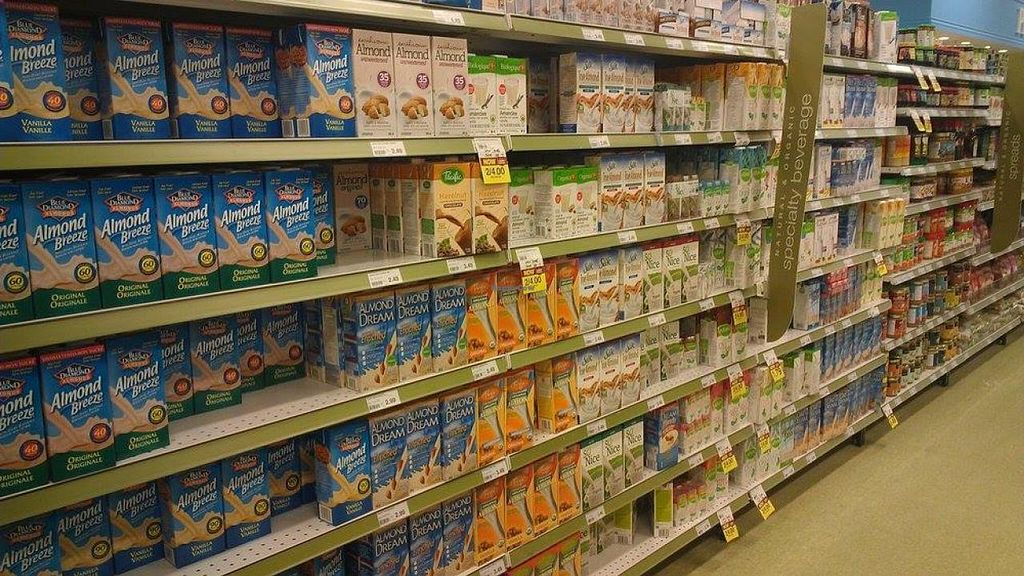 "Photo of Atlantic Superstore  by <a href=""/members/profile/QuothTheRaven"">QuothTheRaven</a> <br/>Plant milks <br/> April 4, 2014  - <a href='/contact/abuse/image/39405/67051'>Report</a>"