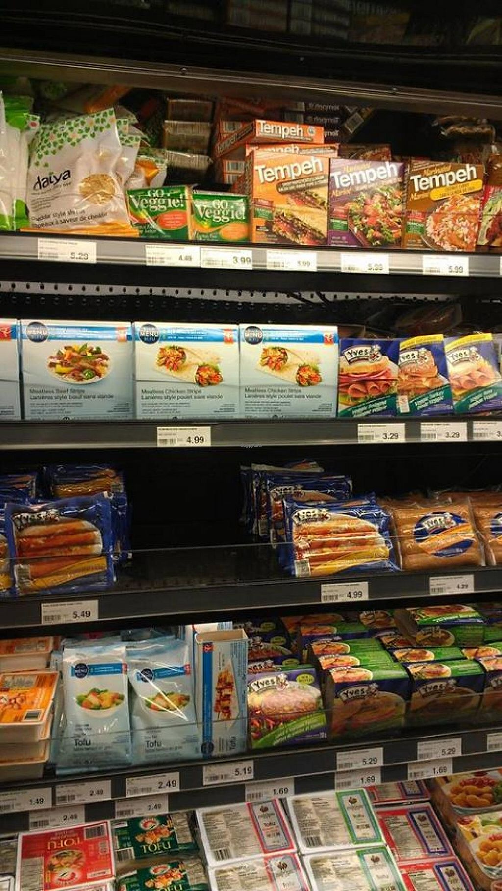 "Photo of Atlantic Superstore  by <a href=""/members/profile/QuothTheRaven"">QuothTheRaven</a> <br/>Veggie products <br/> April 4, 2014  - <a href='/contact/abuse/image/39405/67053'>Report</a>"