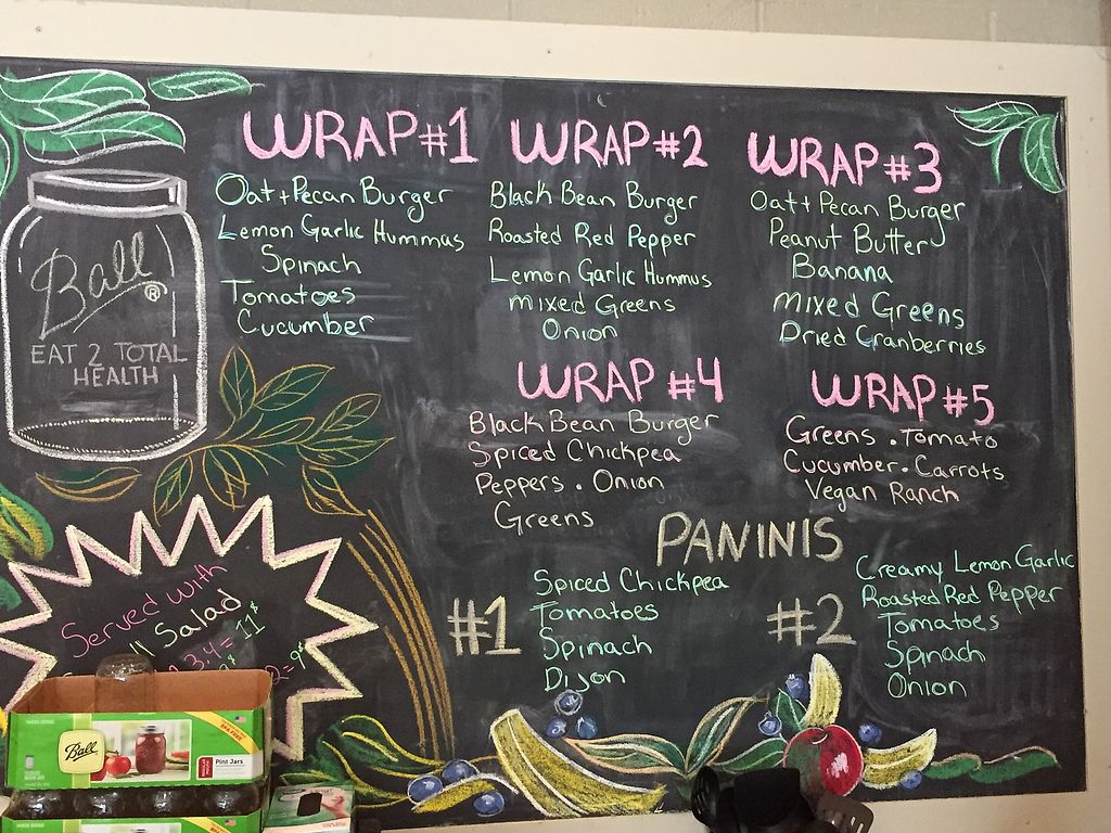 """Photo of CLOSED: Eat to Total Health  by <a href=""""/members/profile/KeithTharp"""">KeithTharp</a> <br/>I had wrap #4, very yummy!! <br/> August 15, 2017  - <a href='/contact/abuse/image/39407/293042'>Report</a>"""