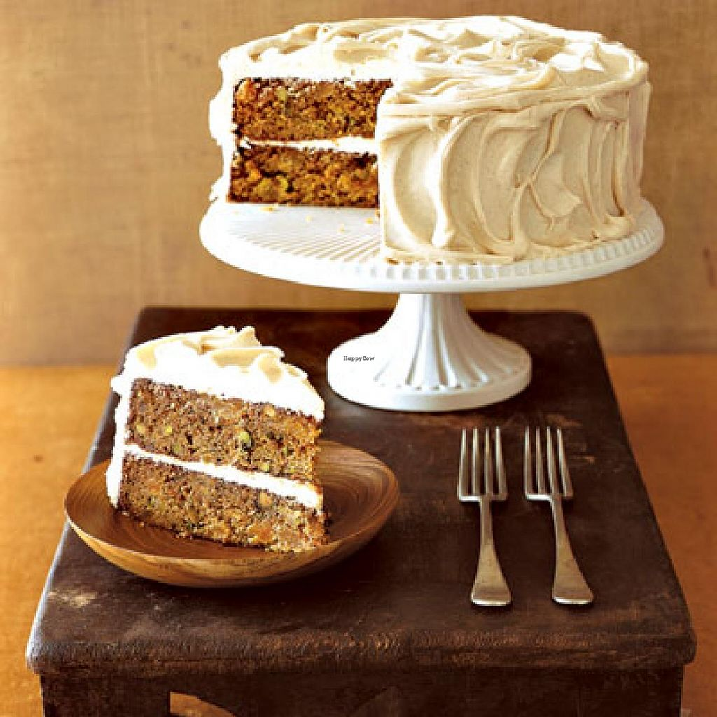 """Photo of Govinda's Restaurant  by <a href=""""/members/profile/Govindas%20Restaurant"""">Govindas Restaurant</a> <br/>Eggles Carrot Cake <br/> March 23, 2015  - <a href='/contact/abuse/image/3940/96741'>Report</a>"""