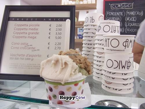 "Photo of Il Gelato Amico - San Massimo  by <a href=""/members/profile/Vegancucc"">Vegancucc</a> <br/>The best icecream ever! Highly recommend it!  <br/> September 15, 2013  - <a href='/contact/abuse/image/39450/54919'>Report</a>"