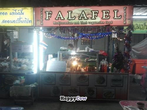 """Photo of CLOSED: The Falafel on the Tracks - Food Court  by <a href=""""/members/profile/RenkeFlexanist"""">RenkeFlexanist</a> <br/>With lots of seating in front of the place <br/> December 25, 2013  - <a href='/contact/abuse/image/39481/60872'>Report</a>"""