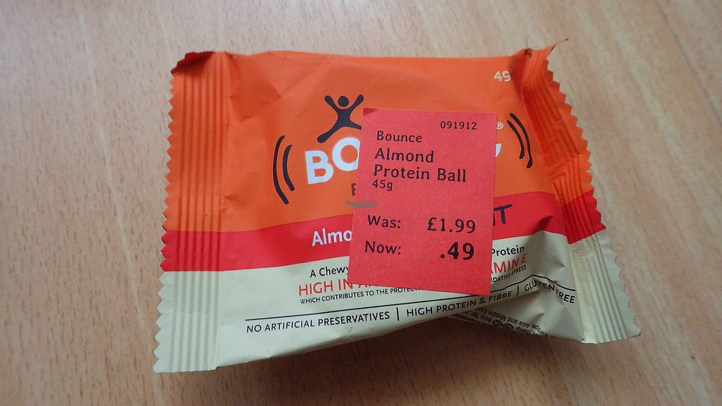 """Photo of Holland and Barrett  by <a href=""""/members/profile/deadpledge"""">deadpledge</a> <br/>Vegetarian almond protein ball <br/> April 16, 2017  - <a href='/contact/abuse/image/39483/248912'>Report</a>"""
