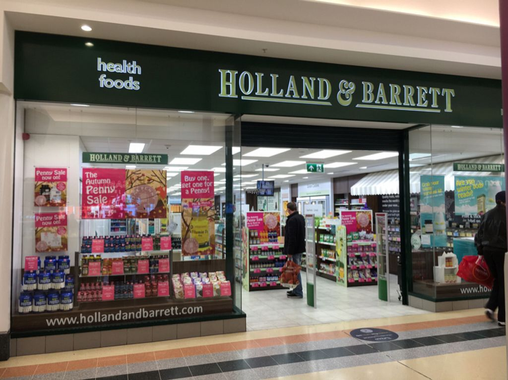 """Photo of Holland and Barrett - The Bridges  by <a href=""""/members/profile/hack_man"""">hack_man</a> <br/>Outside <br/> October 29, 2016  - <a href='/contact/abuse/image/39486/185215'>Report</a>"""