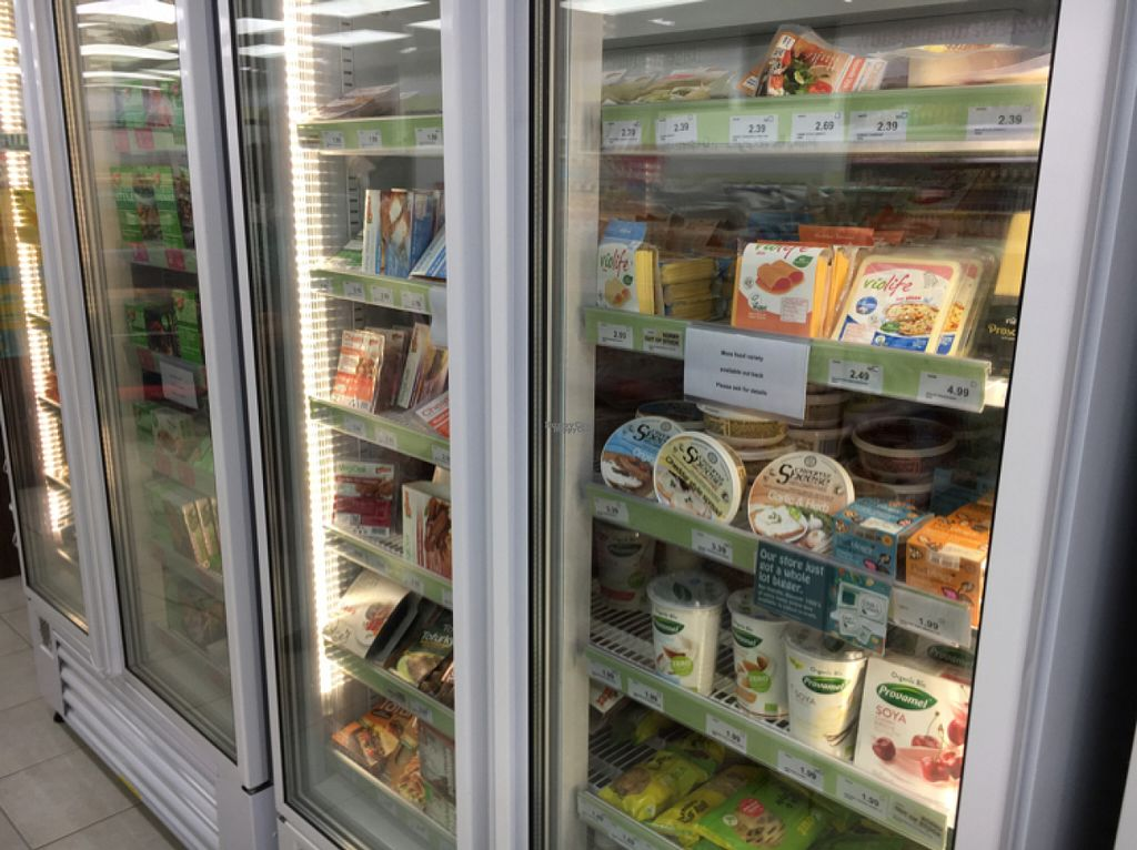 """Photo of Holland and Barrett - The Bridges  by <a href=""""/members/profile/hack_man"""">hack_man</a> <br/>fridge / freezer section  <br/> October 29, 2016  - <a href='/contact/abuse/image/39486/185218'>Report</a>"""