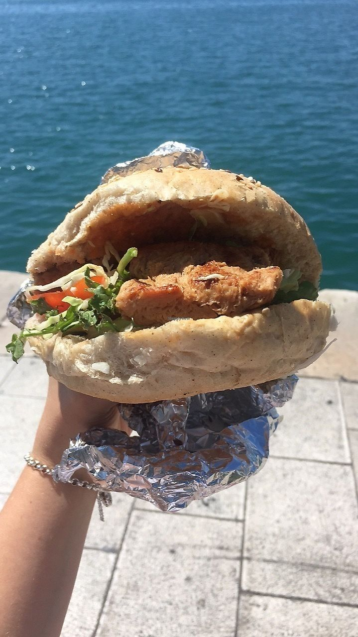 "Photo of Vege Fast Food  by <a href=""/members/profile/SophiaKae"">SophiaKae</a> <br/>Soja Burger by the water  <br/> August 30, 2017  - <a href='/contact/abuse/image/39501/298884'>Report</a>"