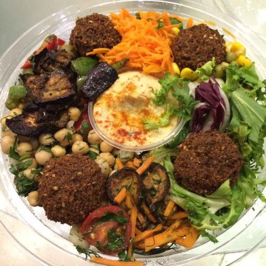 """Photo of Go Falafel - Piccadilly Gardens  by <a href=""""/members/profile/DaniM"""">DaniM</a> <br/>So called 'Lunch Box' <br/> September 12, 2014  - <a href='/contact/abuse/image/39503/79675'>Report</a>"""