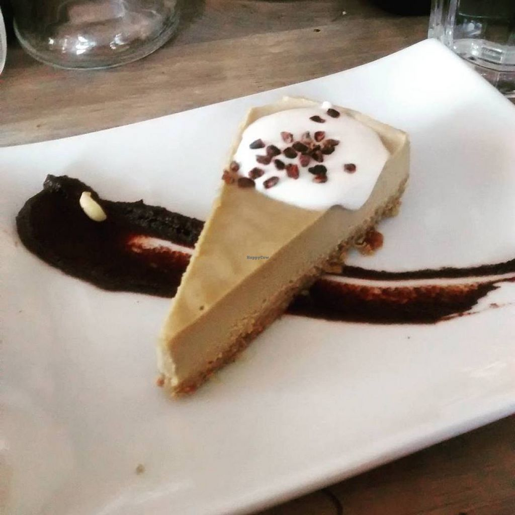 "Photo of enVie A Vegan Kitchen  by <a href=""/members/profile/QuothTheRaven"">QuothTheRaven</a> <br/>Espresso cheesecake <br/> August 7, 2015  - <a href='/contact/abuse/image/39515/112658'>Report</a>"