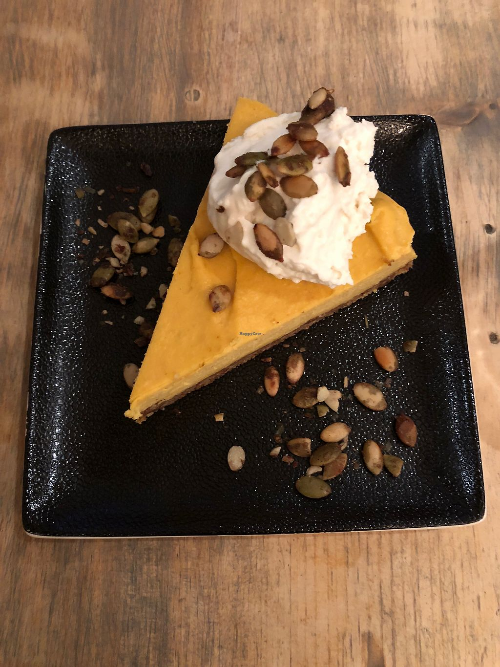 "Photo of enVie A Vegan Kitchen  by <a href=""/members/profile/CathSJ"">CathSJ</a> <br/>Pumpkin cheesecake  <br/> February 19, 2018  - <a href='/contact/abuse/image/39515/361272'>Report</a>"