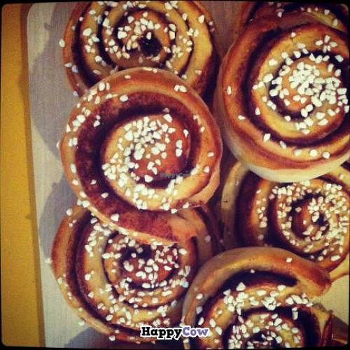 """Photo of CLOSED: Nice Life International Cafe  by <a href=""""/members/profile/Nice%20Life"""">Nice Life</a> <br/>Homemade Swedish Cinnamon Buns :) <br/> September 17, 2013  - <a href='/contact/abuse/image/39531/55073'>Report</a>"""