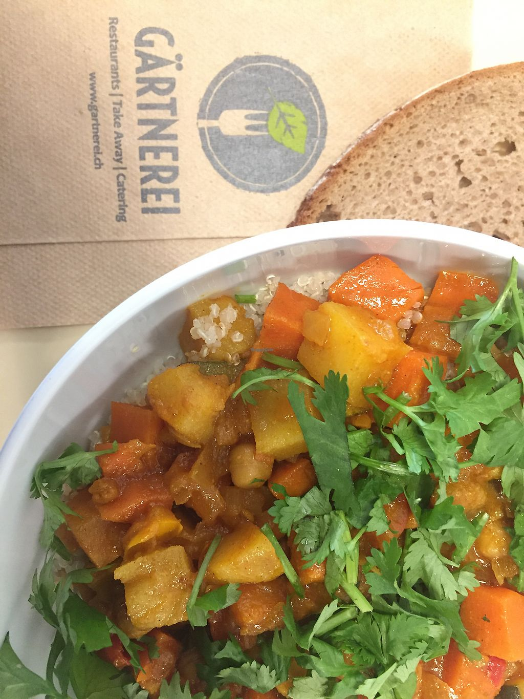 """Photo of Gartnerei - Stockerstrasse  by <a href=""""/members/profile/useradventure"""">useradventure</a> <br/>Delicious vegan veggie bowl! <br/> May 17, 2018  - <a href='/contact/abuse/image/39552/400970'>Report</a>"""