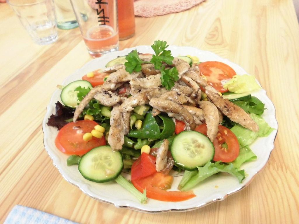 """Photo of Cafe Fleischlos  by <a href=""""/members/profile/Nisi"""">Nisi</a> <br/>Lunch at Cafe Fleischlos <br/> May 19, 2015  - <a href='/contact/abuse/image/39557/102721'>Report</a>"""